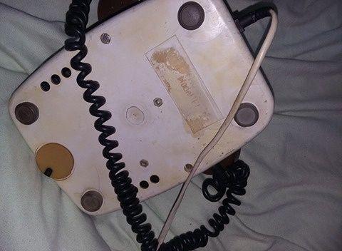 Telefon cu disc vechi,amintiri din epoca de aur,telefon de colectie