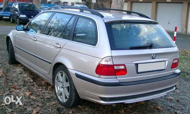 На части BMW 320d E46 фейс