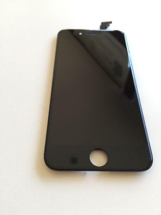 Display Original iPhone 6 Alb Negru Sticla Schimb Geam Montaj GSM