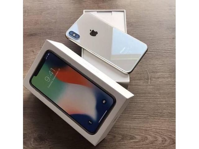 iPhone X open Box sealed