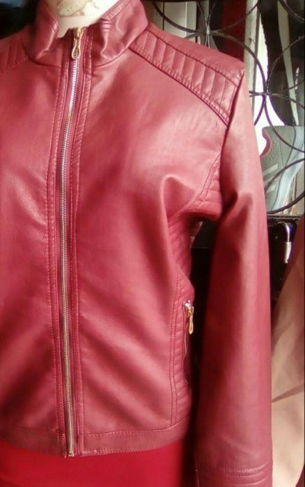 Casaco de leather feminino Machava - imagem 2