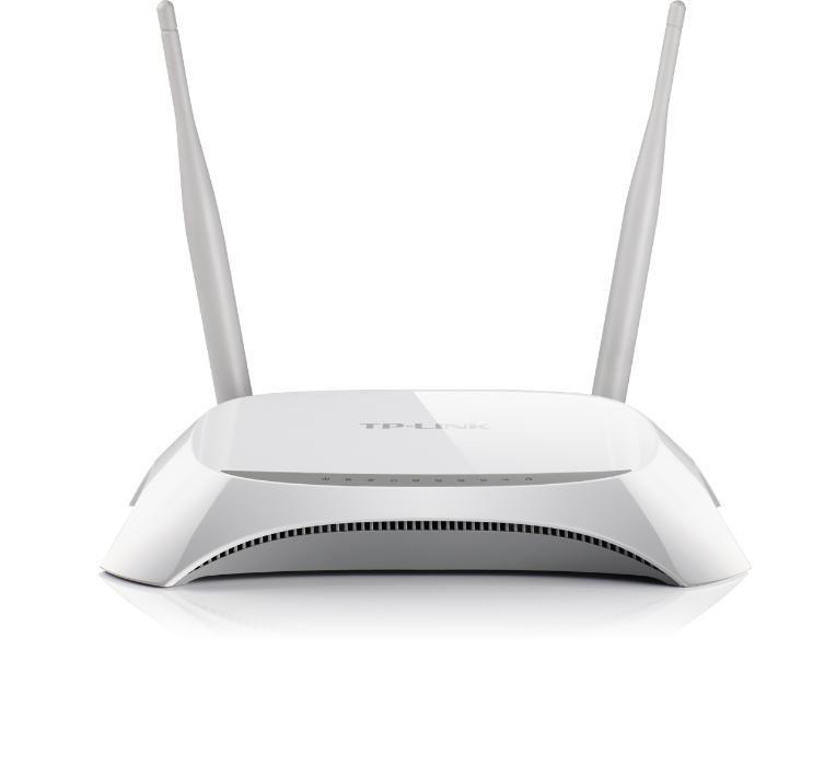 Рутер безжичен Router TP-Link TL-MR3420 Wi-Fi N 3G / 4G 300 Mbps с 2