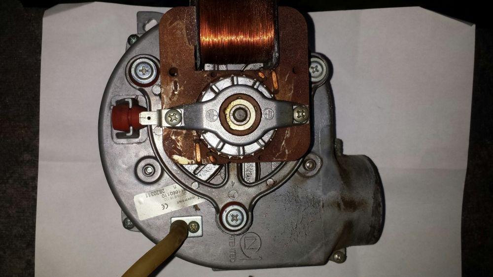 ..Vand motor cu ventilație pentru centrala 2