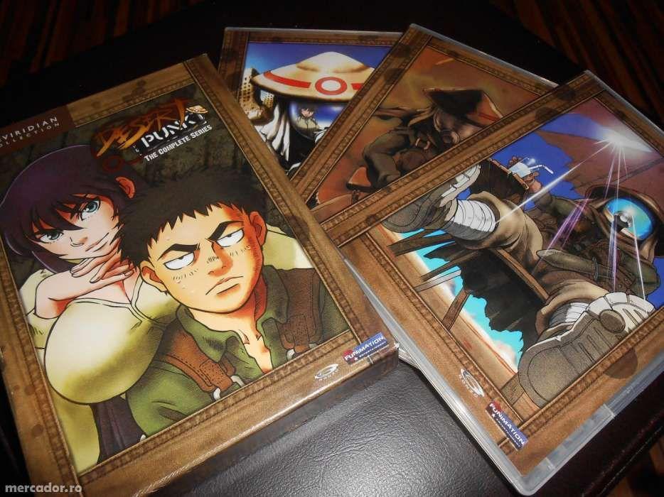 Colectie DVD uri originale cu desene animate japoneze samurai