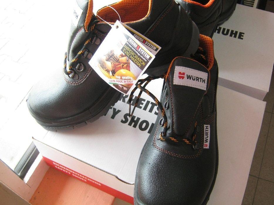 Pantofi lucru Wurth, șantier, protecție ne metalică, lovire sau curent