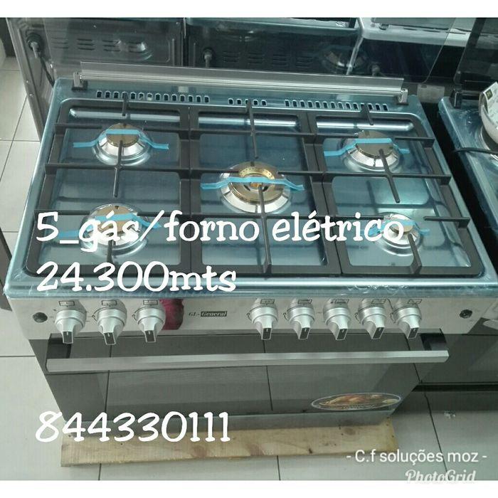 Fogão(60x90) 5gás forno elétrico.Gl_general. Disponível
