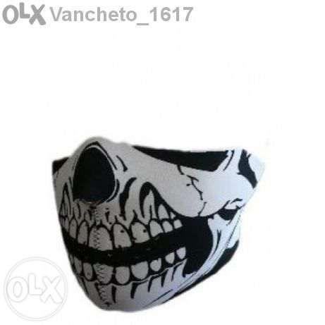 Неопренова маска за лице череп Bars Нова!