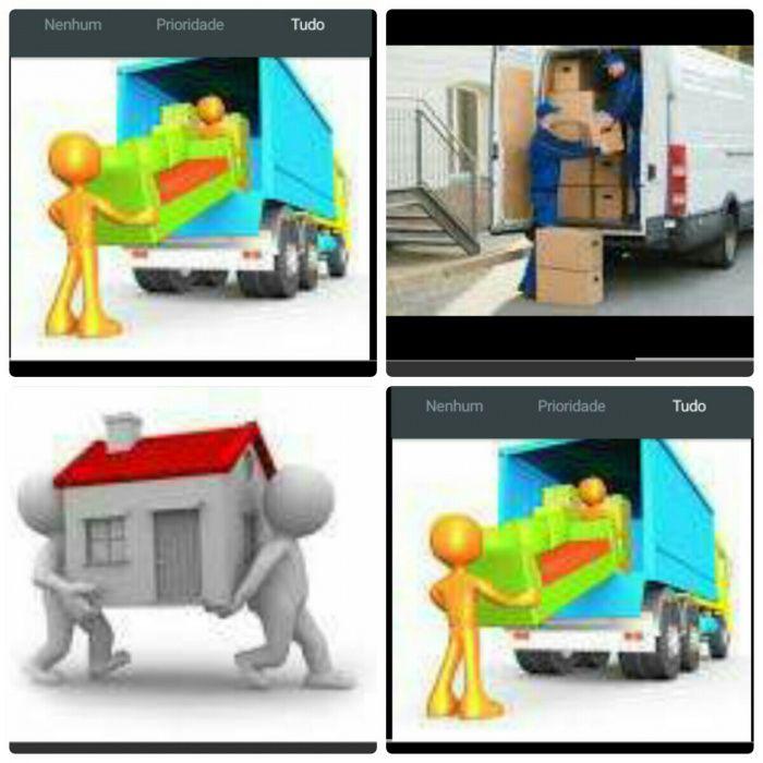 Mudanças nos flat, prédios e casas, carregamento e transporte fazemos!