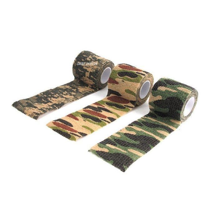 Камофлажна лента за Еърсофт airsoft оръжие фотоапарат и др. оборудване