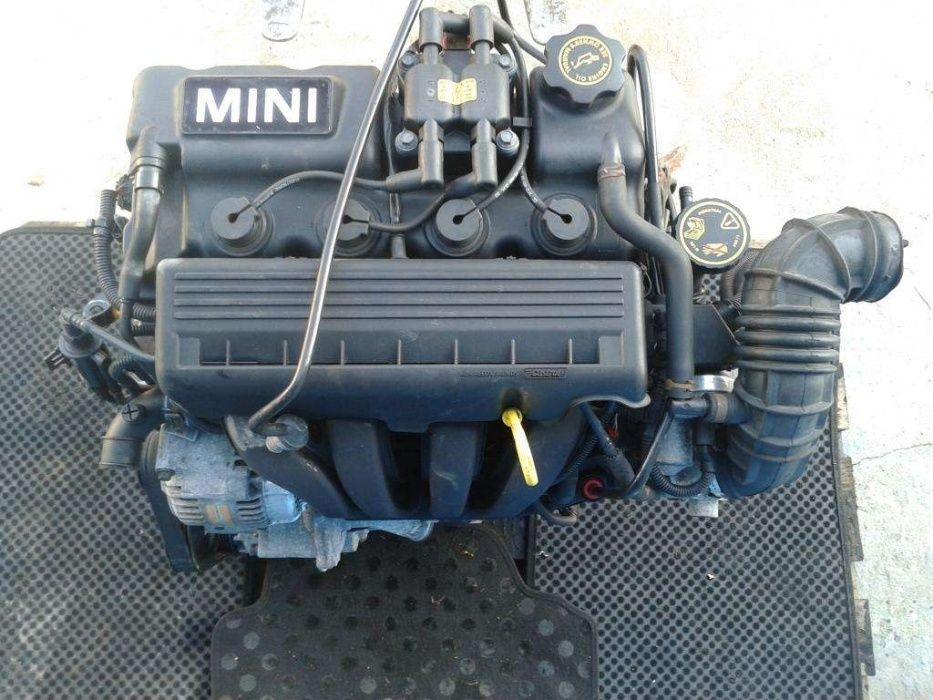 Двигатель 16v на Mini Cooper R50