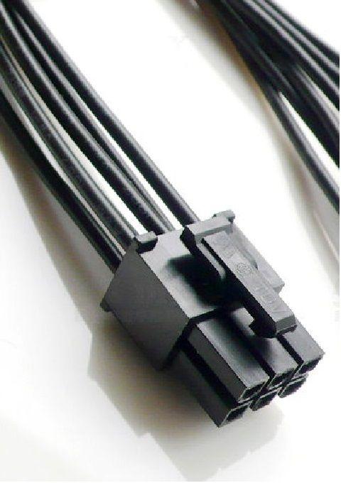 6; 8 (6+2) pin pcie power connector - кримпване и запояване