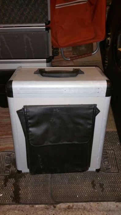 Case aluminiu transport echipament antishock cu cheie