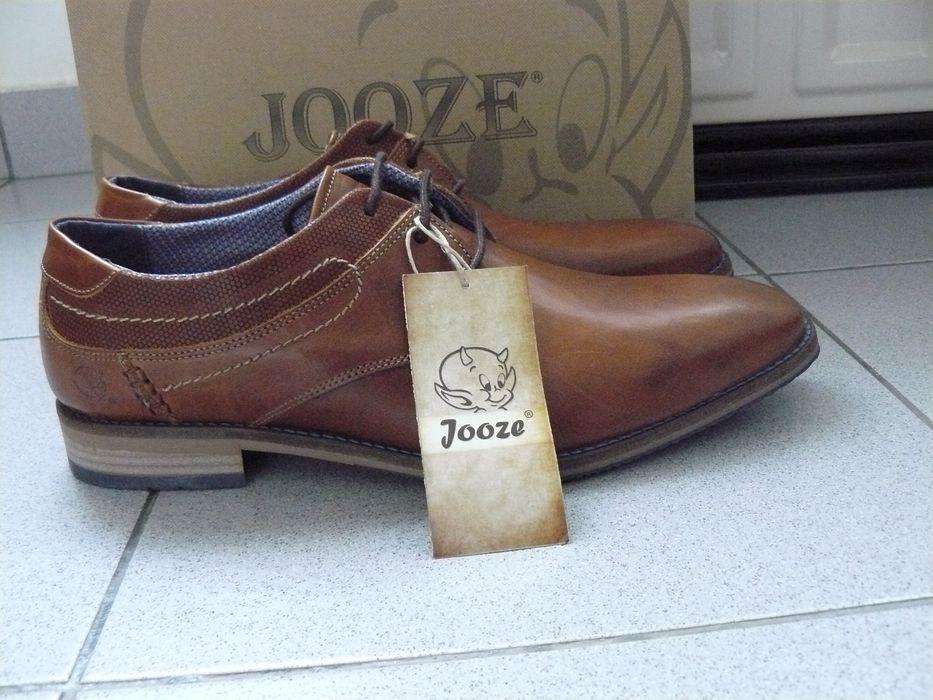 "Pantofi Barbati ""JOOZE"" Din Piele Naturala, Marime 44, Maro, Anglia"