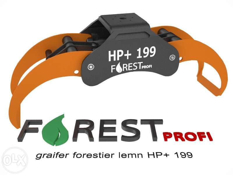 Graifer forestier HP+ 199 deschidere 1990mm