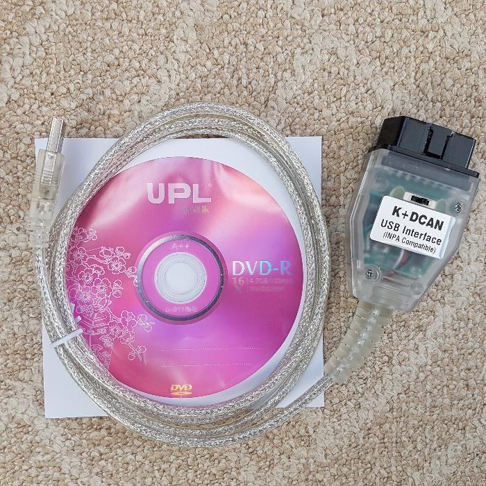 Interfata diagnoza/ tester BMW INPA K+CAN Chip FTDI si Switch / Buton
