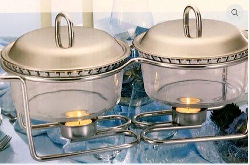 Cubas de vidros circulares para uso doméstico