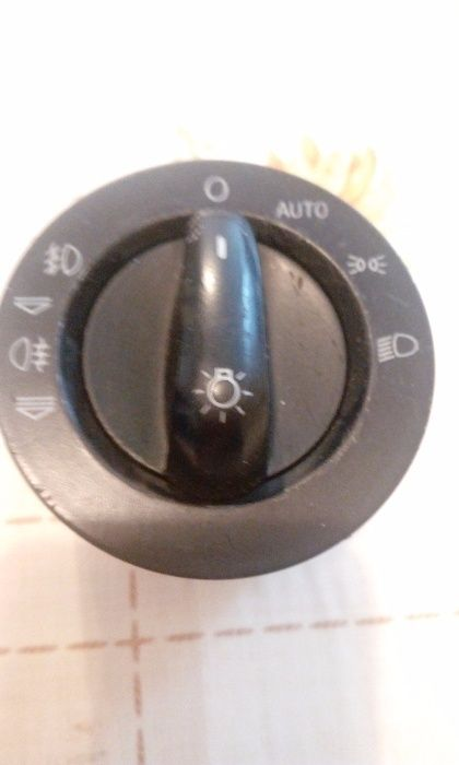 Переключатель фар на ауди А6 кузов С6