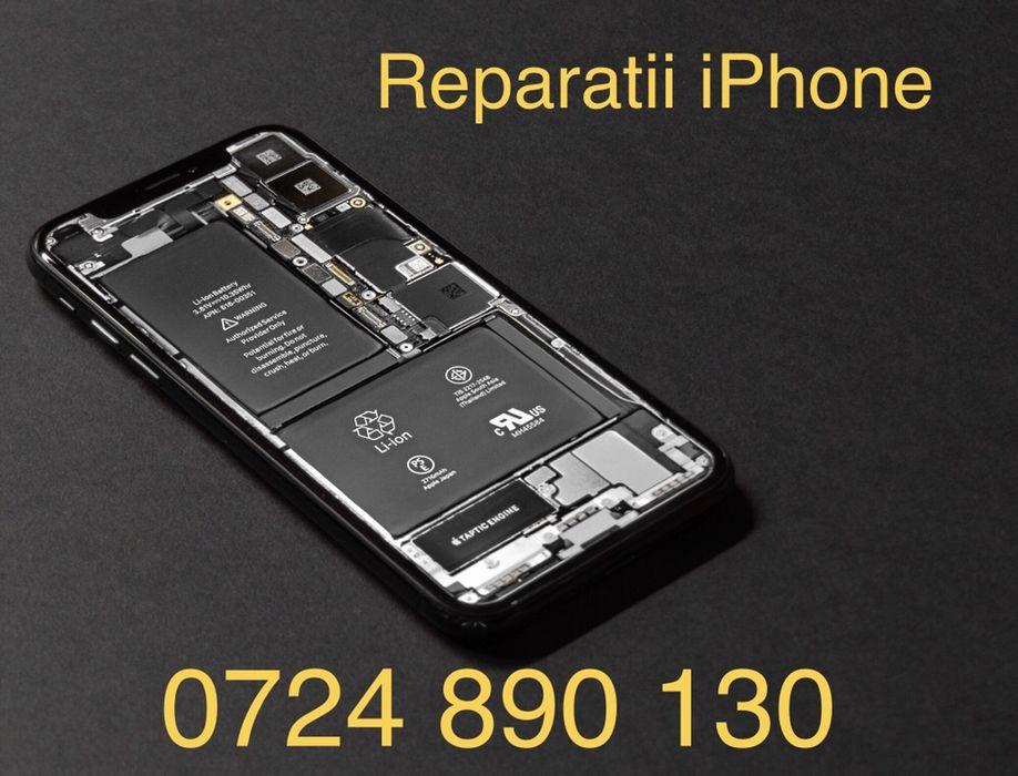 Display LCD Buton WiFi Casca Difuzor Mufa iPhone X s r 8 7 6 5 4 Plus