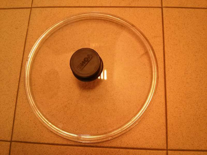 Капак стъклен квадратен и кръгъл, нисък и висок, 18см - 32см