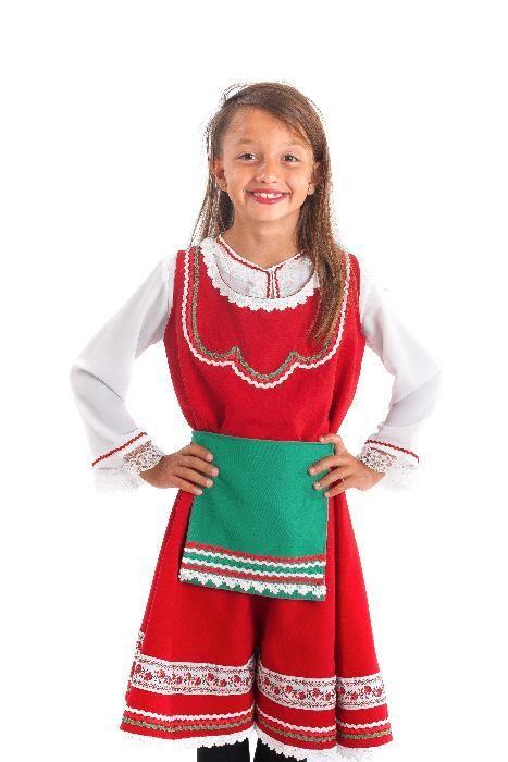 Тракийска детска носия момиче