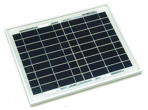 Kit Panou Solar 10W + acumulator 12V 7,5Ah pentru Gard electric Oradea - imagine 1