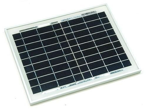 Kit Panou Solar 10W + acumulator 12V 7,5Ah pentru Gard electric