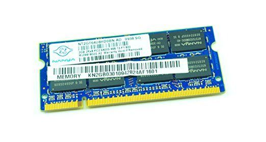 Memorie DDR2 800Mhz Nanya 2Gb PC2-6400S 2Rx8 NT2GT64U8HD0BN-AD