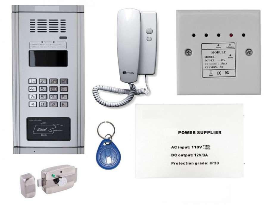 Interfon audio pentru bloc vila casa