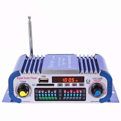 Statie amplificator auto USB SD/MMC MP3 Radio RMS 2 x 20W NOU !!!