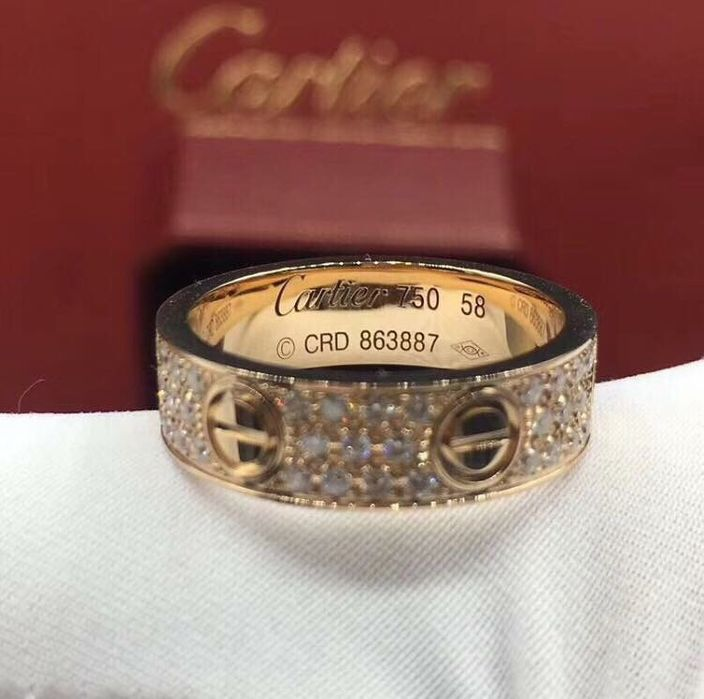 Позлатени пръстени Cartier LoVe гр. София - image 1