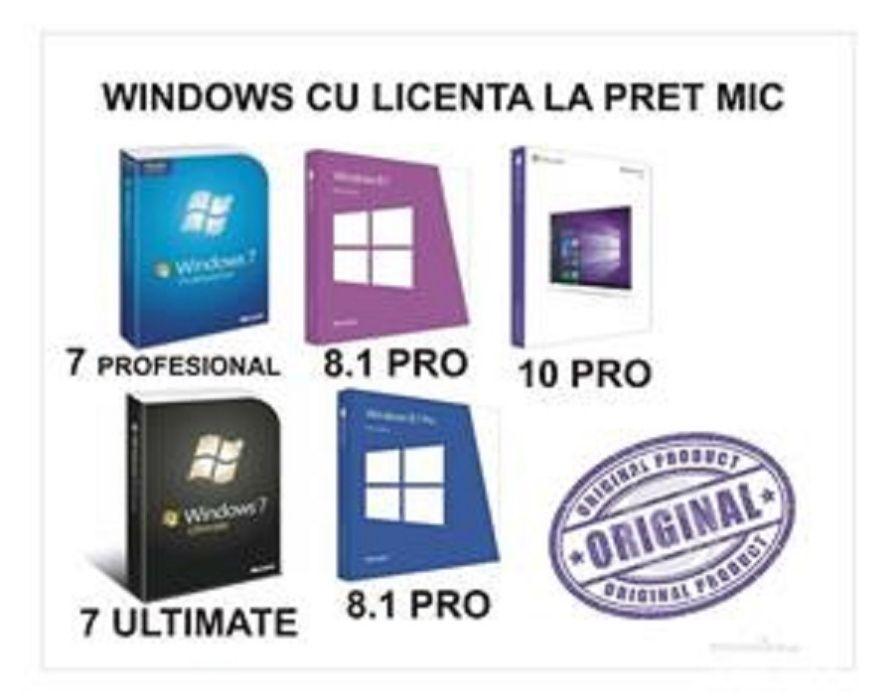 windows /Reparatii Calculatoare | Sevice Laptop | Instalare Windows