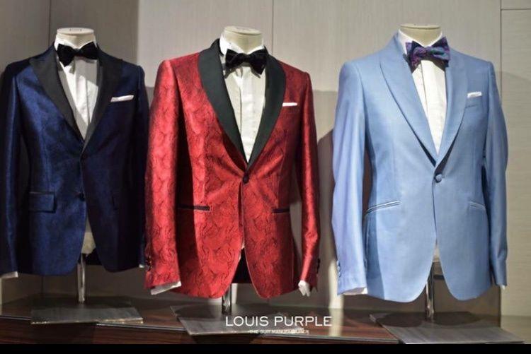 Sacou Louis Purple