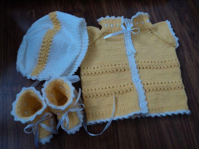 Комплект плетен - детски