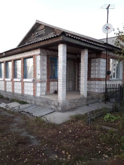 продам пол дома в деревне с. Алексеевка