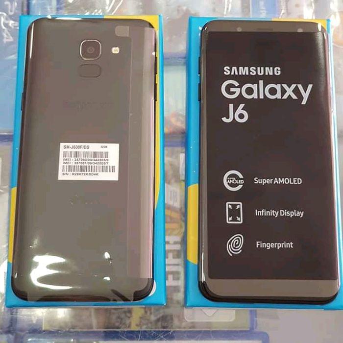 Samsung galaxy j6 dual sim novo na caixa original genuíno