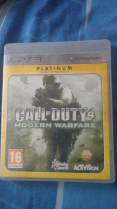 Call of duty mw4 e ghost recon