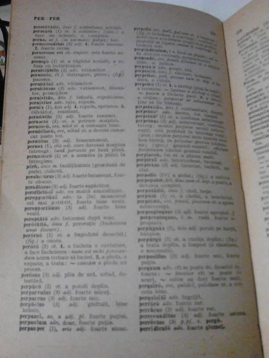 dicționar latin - roman, 1966 Iasi - imagine 5