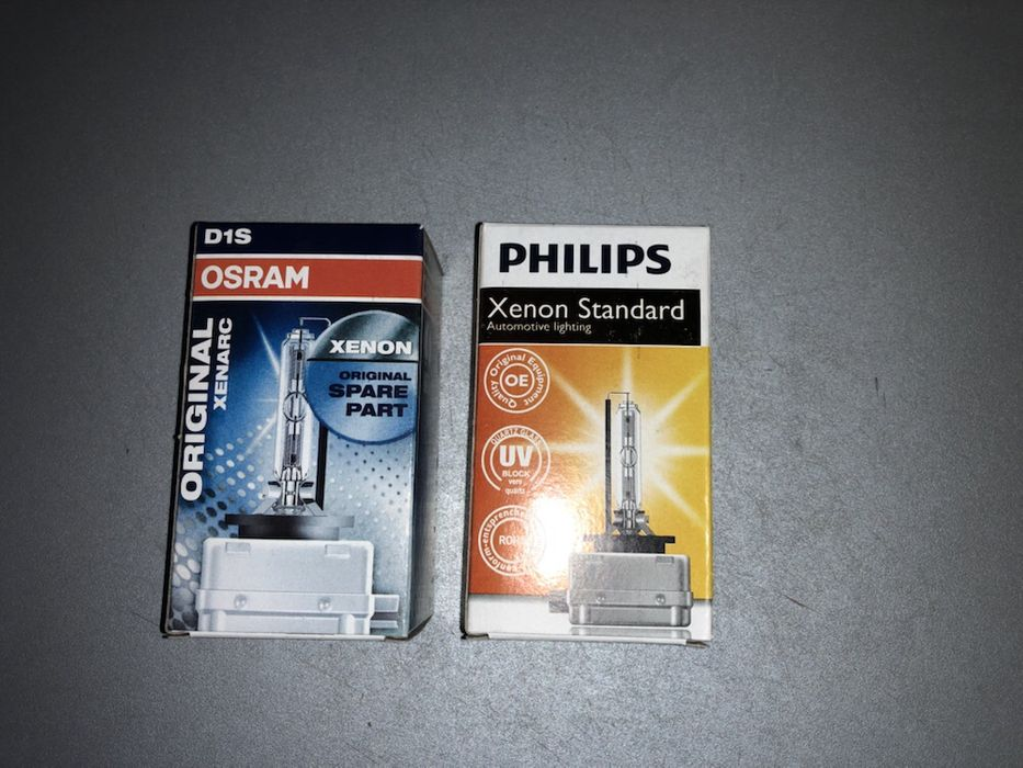Vând bec xenon D1S Osram și Philips