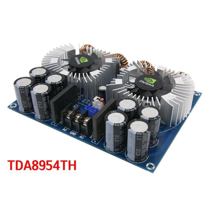 Amplificator de putere 2 x 420 W cu 2 ventilatoare