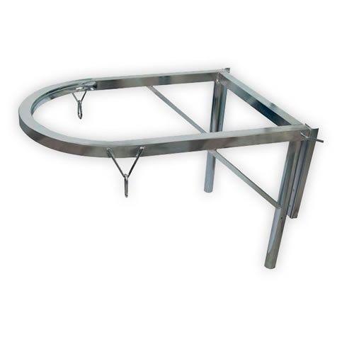 Метална рамка за улеи за строителни отпадъци