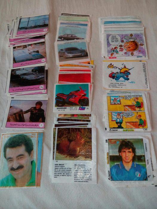 Продавам картички и картинки от дъвки