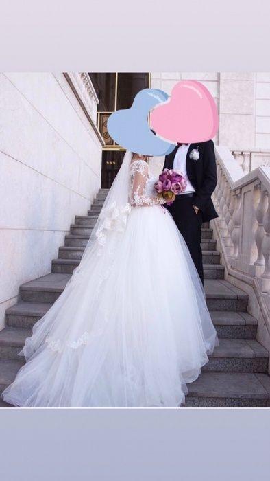 Эксклюзивное свадебное платье дизайнера Bride room