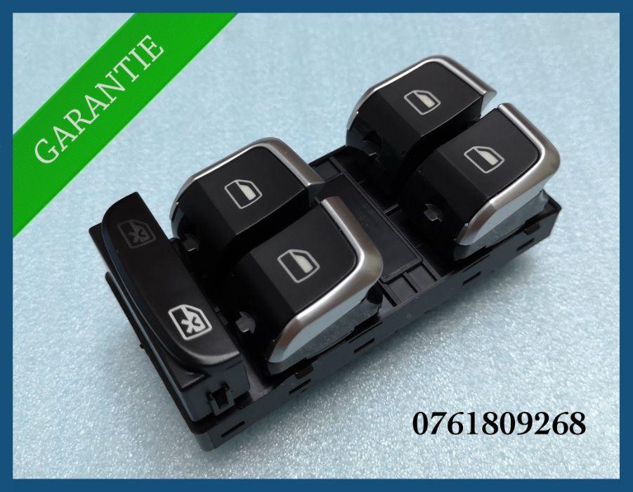 Consola 4 butoane geamuri electrice crom Audi A4 A5 Q3 Q5 8KD959851A