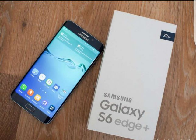 galaxy s6 edge+ Dois chip de 32 gb versão actualizada novo