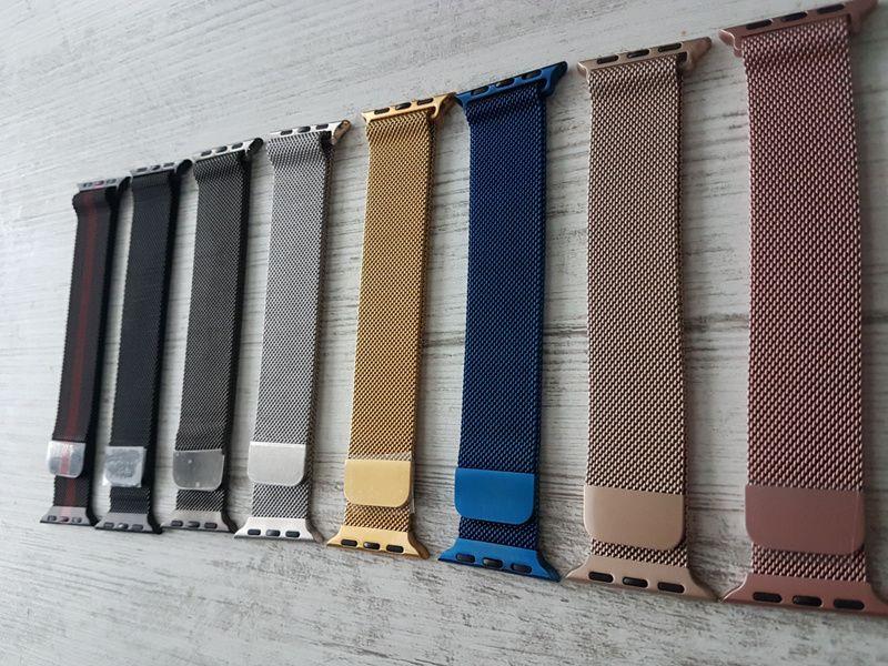 Milanese Apple Watch каишка метална iWatch каишки 38mm 40mm 42mm 44mm