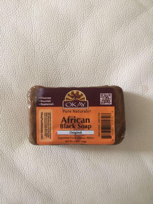 Sabão Preto African Black Soap Para o Rosto