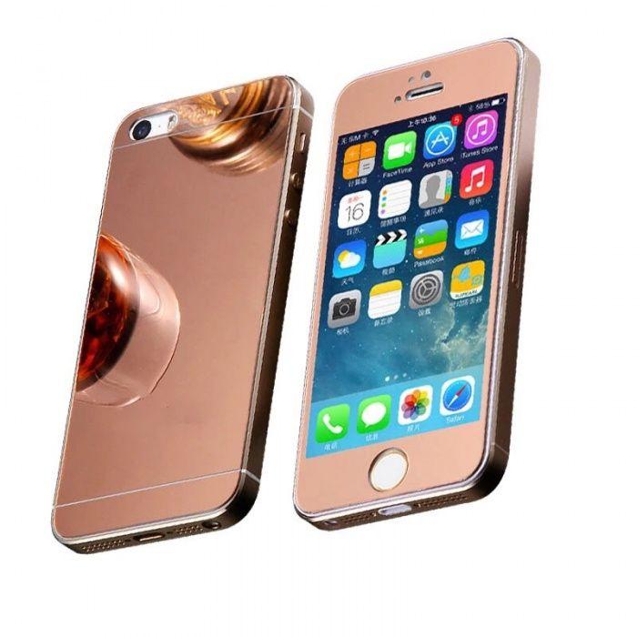Folie sticlă oglinda Față+Spate iPhone 6,6s