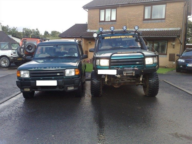 Inaltare caroserie bodylift Land Rover Discovery 1 si 2
