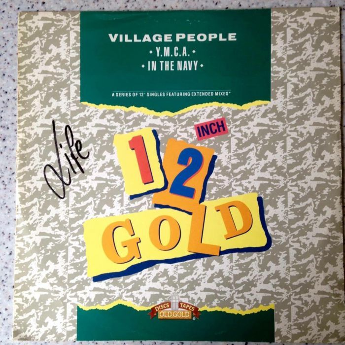 Willage People - Y.M.C.A. / IN THE NAVY -12'' Single