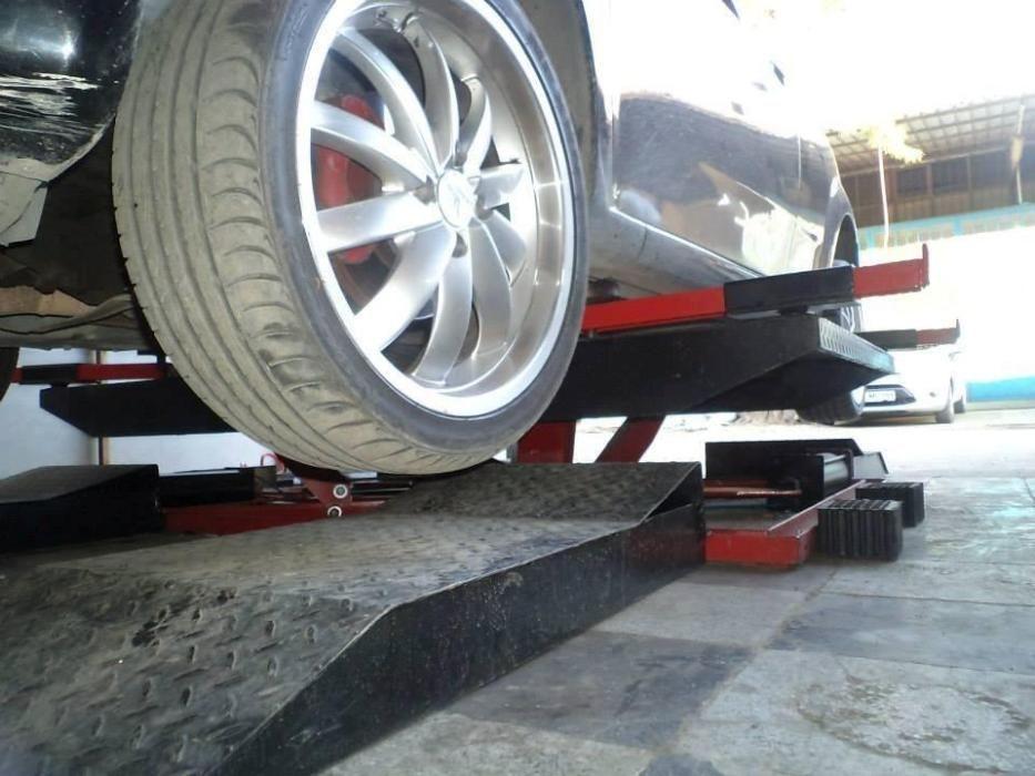 Платформа за монтаж-демонтаж на гуми - 3 тона